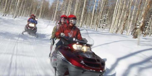 Snowmobile Image Banner