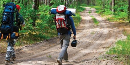 Hiking Image Banner